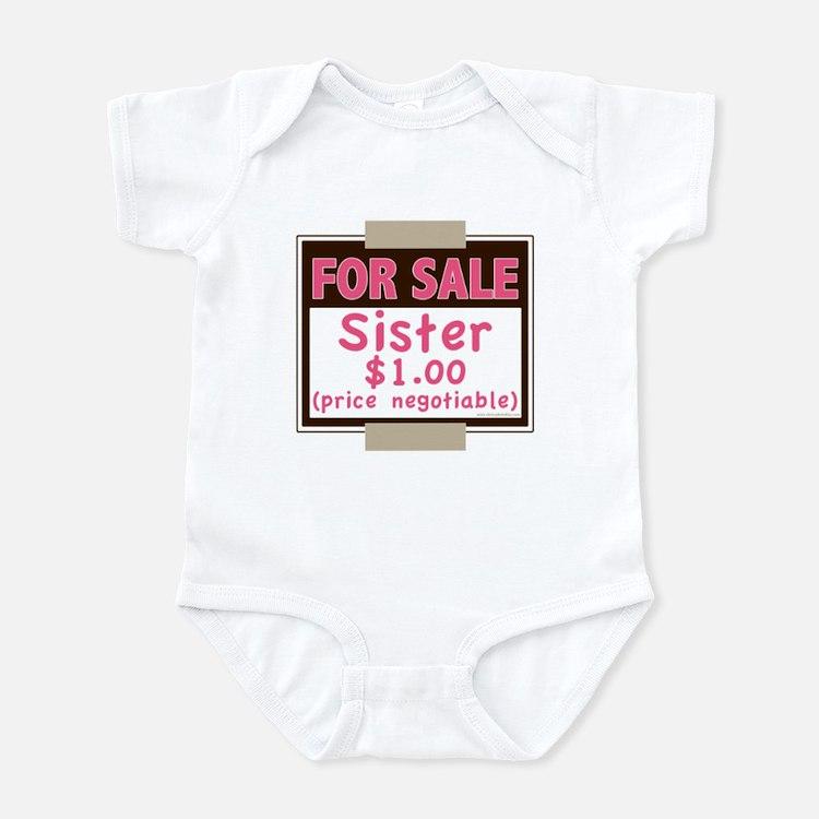 For Sale Sister $1 Infant Bodysuit