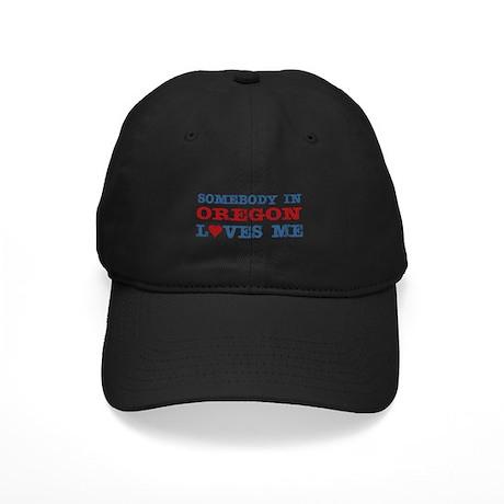 Somebody in Oregon Loves Me Black Cap