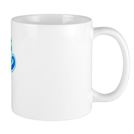 Retro Grant (Blue) Mug