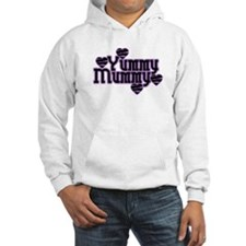 Purple Yummy Mummy Hoodie