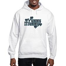 Blue Yummy Mummy Hoodie