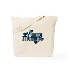 Blue Yummy Mummy Tote Bag