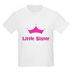 Little Sister Princess Crown T-Shirt