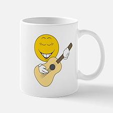 Guitarist Smiley Face Mug
