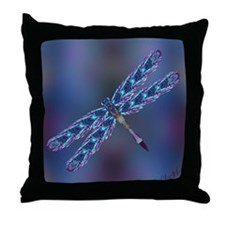 Dragonfly - Throw Pillow