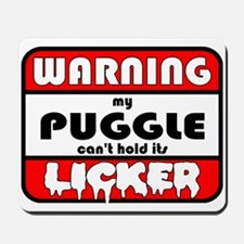 Puggle LICKER Mousepad