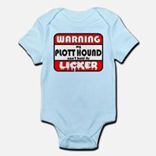Plott Hound LICKER Infant Bodysuit