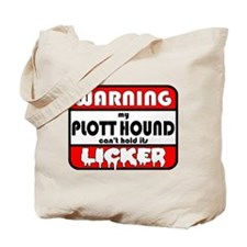 Plott Hound LICKER Tote Bag