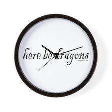 Dragons 1 Wall Clock