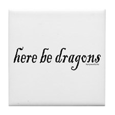 Dragons 1 Tile Coaster