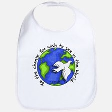 World Peace Gandhi - 2008 Bib