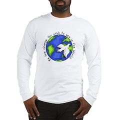 World Peace Gandhi - 2008 Long Sleeve T-Shirt