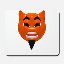 Mean Devil Face Mousepad