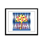 APRIL SHOWERS Framed Panel Print