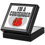 I'm A Contender Keepsake Box