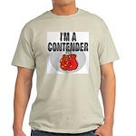 I'm A Contender Ash Grey T-Shirt