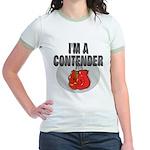 I'm A Contender Jr. Ringer T-Shirt