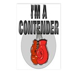 I'm A Contender Postcards (Package of 8)