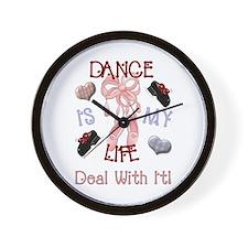 Unique Dancers Wall Clock