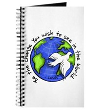 World Peace Gandhi - Funky Stroke Journal