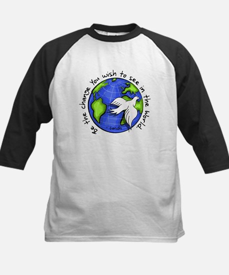 World Peace Gandhi - Funky Stroke Kids Baseball Je