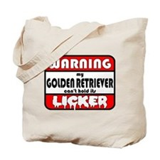 Golden LICKER Tote Bag