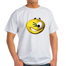 Goofy Winking Face T-Shirt