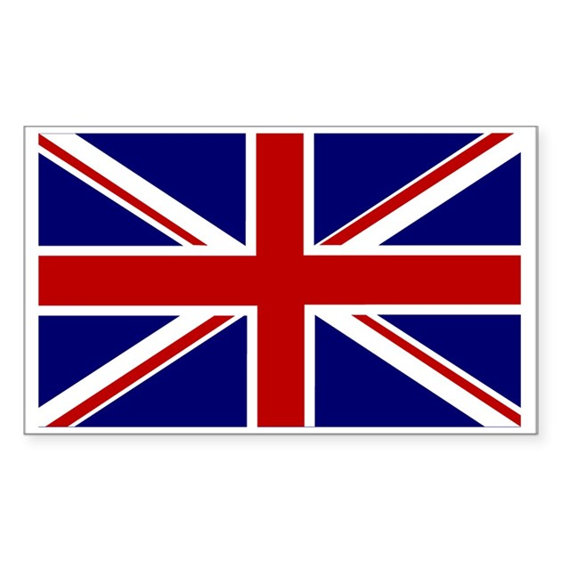 United kingdom flag decal by polikick for United kingdom flag coloring page