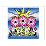 MAY FLOWERS Small Poster