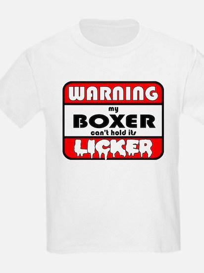 Boxer LICKER T-Shirt