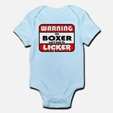 Boxer LICKER Infant Bodysuit