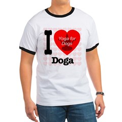 I Love Doga: Yoga for dogs T