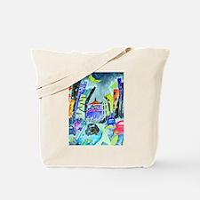 The City Talks Tote Bag