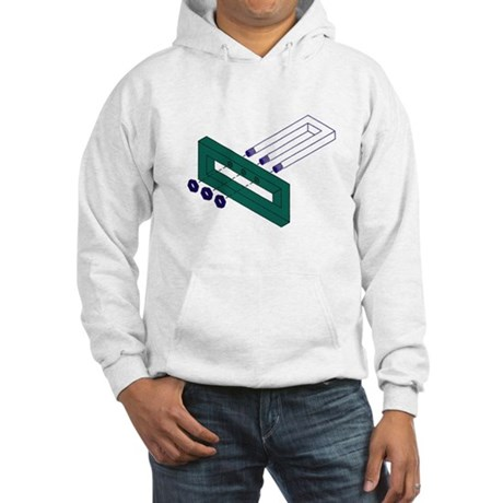 Fork Illusion Hooded Sweatshirt