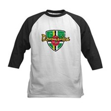 Dominica distressed Flag Tee