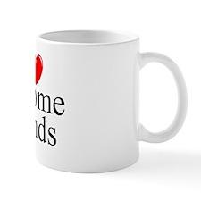 """""""I Love (Heart) Income Funds"""" Mug"""