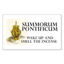 Summorum pontificum Rectangle Sticker 50 pk)
