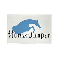 Hunter Jumper Horse Rectangle Magnet (10 pack)