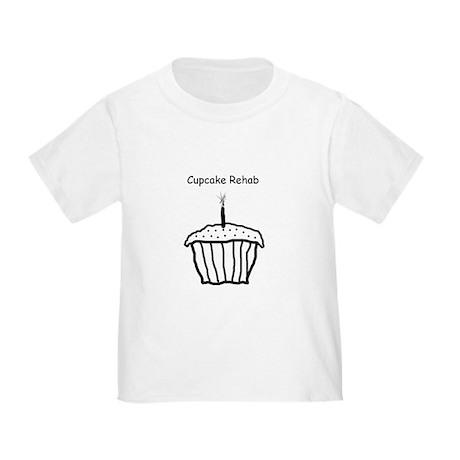 Cupcake Rehab Toddler T-Shirt