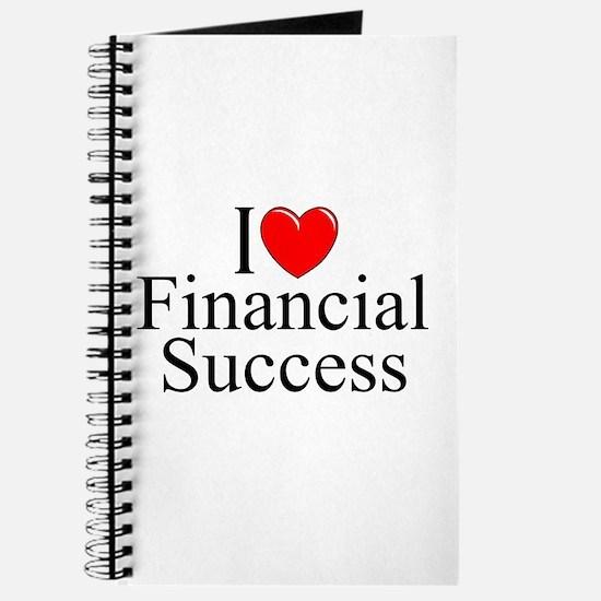 """""""I Love (Heart) Financial Success"""" Journal"""