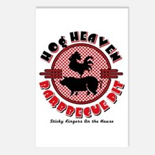 Hog Heaven BBQ Pit Postcards (Package of 8)