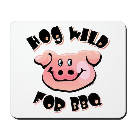Hog Wild For BBQ Mousepad