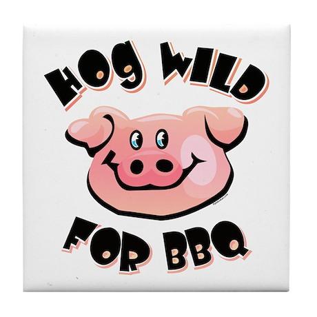 Hog Wild For BBQ Tile Coaster