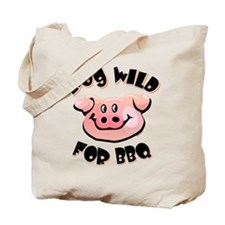 Hog Wild For BBQ Tote Bag