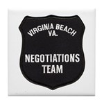 VA Beach Negotiator Tile Coaster