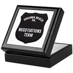 VA Beach Negotiator Keepsake Box