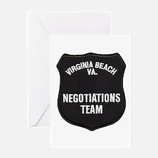 VA Beach Negotiator Greeting Card