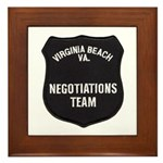 VA Beach Negotiator Framed Tile
