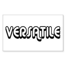 Versatile Rectangle Stickers