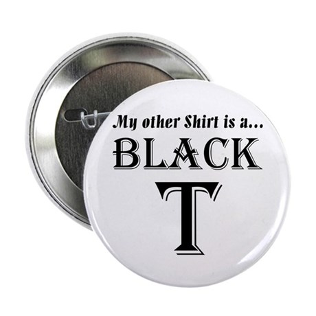 "Black T 2.25"" Button (100 pack)"